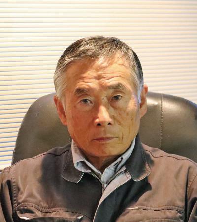 代表取締役 山本 勝久自画像